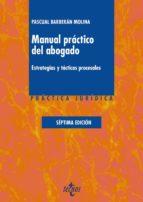 manual práctico del abogado pascual barberan molina 9788430969081
