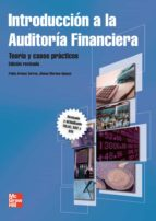 introduccion a la auditoria financiera: teoria y casos practicos pablo arenas del buey torres 9788448182281