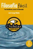 filosofía fácil para bachillerato (ebook)-9788467008081