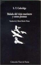 balada del viejo marinero y otros poemas-samuel taylor coleridge-9788475221281