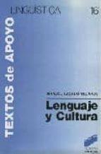 lenguaje y cultura manuel casado velarde 9788477380481