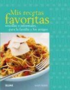 mis recetas favoritas-9788480767781