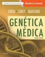 genetica medica + studentconsult (5ª ed.) b;lynn carey, j.c.;bamshad, m.j. jorde 9788491130581