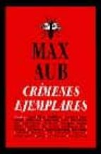crimenes ejemplares max aub 9788493022181