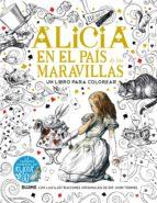 alicia en el pais de las maravillas: un libro para colorear lewis carroll john tenniel 9788498018981