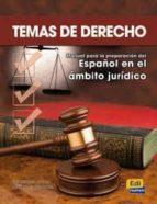 temas de derecho: manual para la preparacion del español. ambito juridico jose antonio fernandez 9788498481181