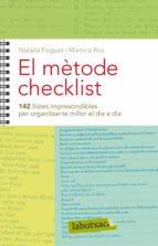 el metode checklist-natalia foguet-9788499303581