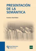 presentacion de la semantica francisco abad nebot 9788499610481