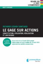 le gage sur actions (ebook)-9782879981291