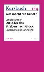 obi oder das streben nach glück (ebook) karl bruckmaier 9783867745291