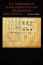 los fundamentos de la arquitectura en la edad del humanismo rudolf wittkower 9788420671291