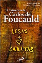 el testamento de carlos de foucauld-jean françois six-maurice serpette-pierre sourisseau-9788428528191