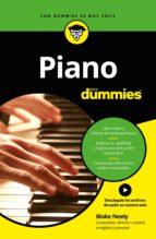 piano para dummies (ebook)-blake neely-9788432900891