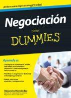 negociacion para dummies-alejandro hernandez-9788432901591