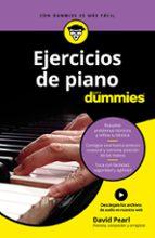 ejercicios de piano para dummies-david pearl-9788432904691
