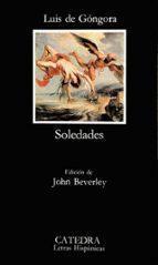 soledades (7ª ed.) luis de gongora y argote 9788437601991