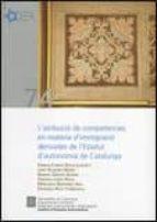 l´atribucio de competencies en materia d immigracio derivades de l estatut d autonomia de catalunya-9788439386391