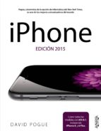 iphone. edición 2015 david pogue 9788441536791