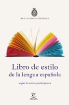 libro de estilo de la lengua española 9788467053791