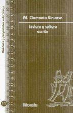lectura y cultura escrita (ebook)-m. clemente linuesa-9788471125491