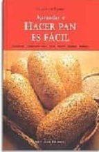 aprender a hacer pan es facil francisco tejero 9788472120891