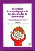 evaluación psicopedagógica de las dificultades de aprendizaje-jose luis galve manzano-9788478695591