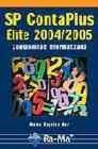 sp contaplus elite 2004/2005: contabilidad informatizada-maria angeles mur nuño-9788478976591