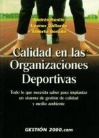 calidad en las organizaciones deportivas 9788480884891