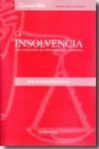 insolvencia: una cuestion de terminologia juridica-ana aleman monterreal-9788484085591