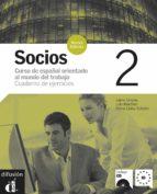 socios 2 n.e.cuaderno de ejercicios (incluye cd) 9788484434191