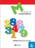 cuaderno de matematicas, nº 6-9788489655591
