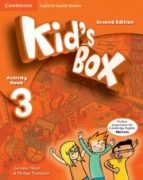 kid s box ess 3 2ed act/stickers/cd rom/my eng portfolio 9788490364291