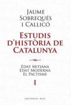 El libro de Estudis d historia de catalunya autor VV.AA. DOC!