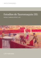 estudios de tauromaquia iii: aula de tauromaquia 6-rafael cabrera bonet-9788492456291