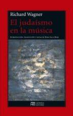 el judaismo en la musica richard wagner 9788494015991