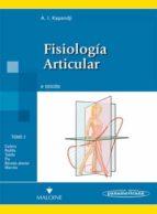fisiologia articular (6ª ed.) tomo 2: miembro inferior i.a. kapandji 9788498354591