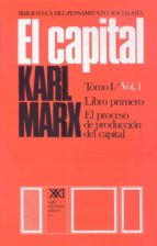 el capital (tomo i   / vol. 1) karl marx friedrich engels 9789682302091