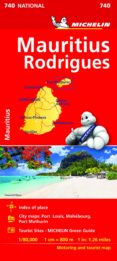 MAURITIUS RODRIGUES 2019 (MAPA NATIONAL MICHELIN) (INGLES) - 9782067233201 - VV.AA.