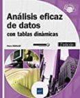 ANALISIS EFICAZ DE DATOS: CON TABLAS DINAMICAS (2ª ED.) - 9782409007101 - PIERRE RIGOLLET