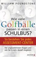 WIE VIELE GOLFBÄLLE PASSEN IN EINEN SCHULBUS? (EBOOK) - 9783641095901 - POUNDSTONE WILLIAM