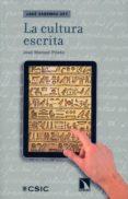la cultura escrita-jose manuel prieto bernabe-9788400097301