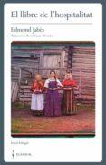 el llibre de l hospitalitat-edmond jabes-david cusco i escudero-9788409090501