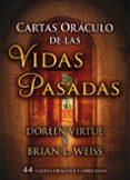 CARTAS ORACULO DE LAS VIDAS PASADAS: 44 CARTAS ORACULOS Y LIBRO GUIA - 9788415292401 - DOREEN VIRTUE