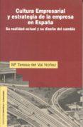 CULTURA EMPRESARIAL Y ESTRATEGIA DE LA EMPRESA EN ESPAÑA - 9788432130601 - MARIA TERESA DEL VAL NUÑEZ
