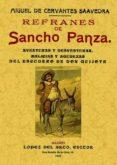 REFRANES DE SANCHO PANZA (ED. FACSIMIL DE LA ED. DE MADRID, 1905) - 9788495636201 - MIGUEL DE CERVANTES SAAVEDRA