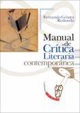 manual de critica literaria contemporanea-fernando gomez redondo-9788497408301