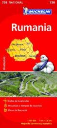 RUMANIA 2012 (1:750000) (REF. 738) (MAPA NATIONAL) - 9782067172111 - VV.AA.