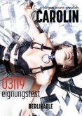 Descargar libros en formato doc. CAROLIN - FOLGE 3 (Spanish Edition)