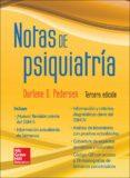 NOTAS DE PSIQUIATRÍA - 9786071509611 - M. PEDERSEN