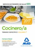 COCINERO/A DEL SERVICIO EXTREMEÑO DE SALUD (SES). TEMARIO ESPECIFICO (VOL. 1) - 9788414211311 - VV.AA.